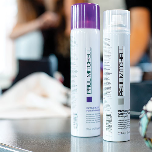 Paul Mitchell sponsored the Hairdusty hair seminar | event photography in MD