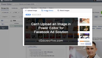 Upload an Image in Power Editor