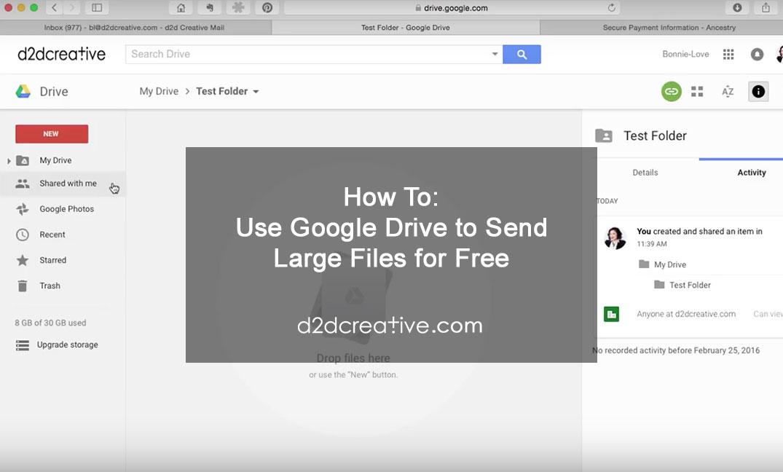 Video-Screenshot-send-large-files - d2d Creative | Promo Videos +